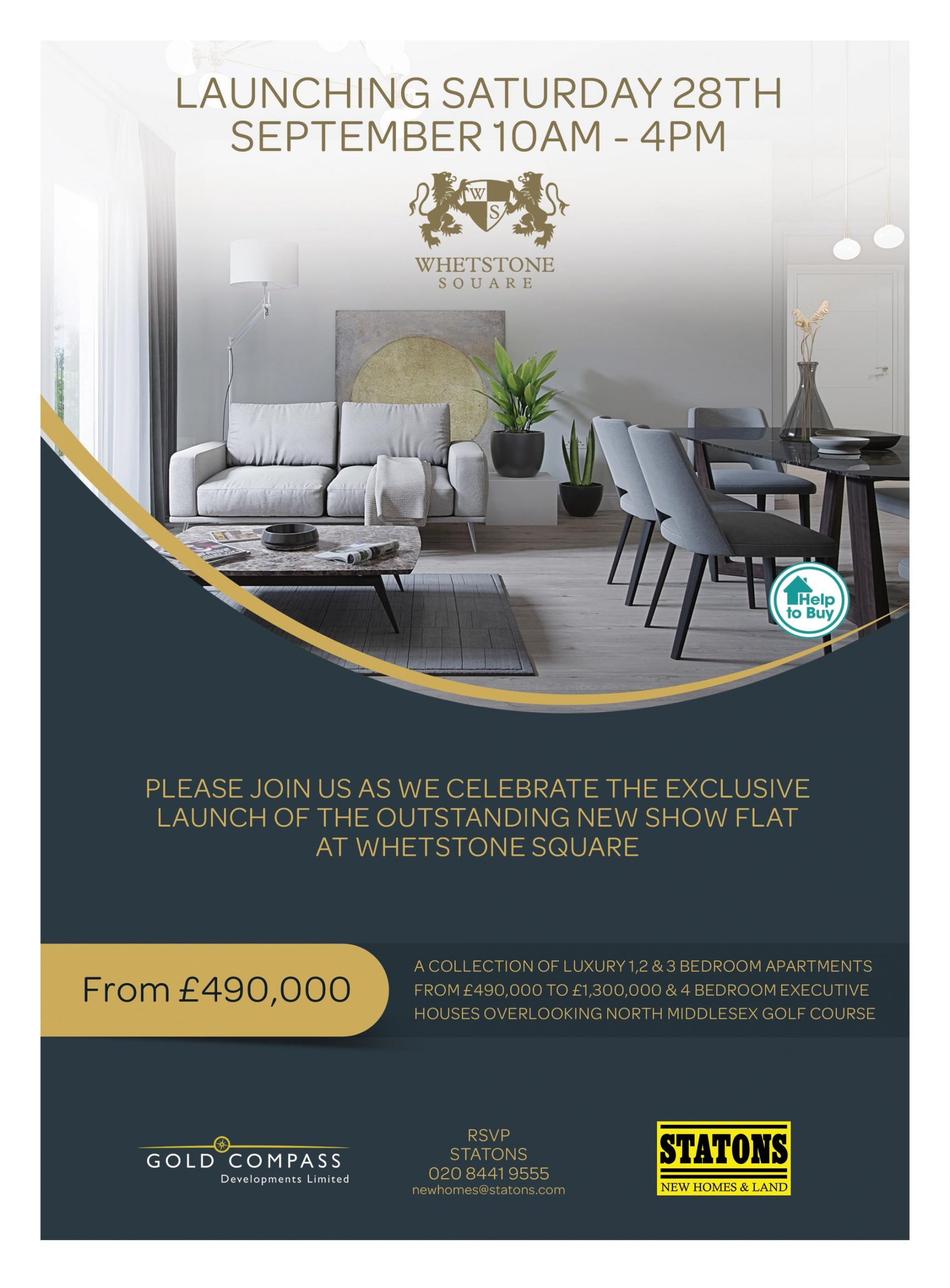 Luxury Apartments At Whetstone Square
