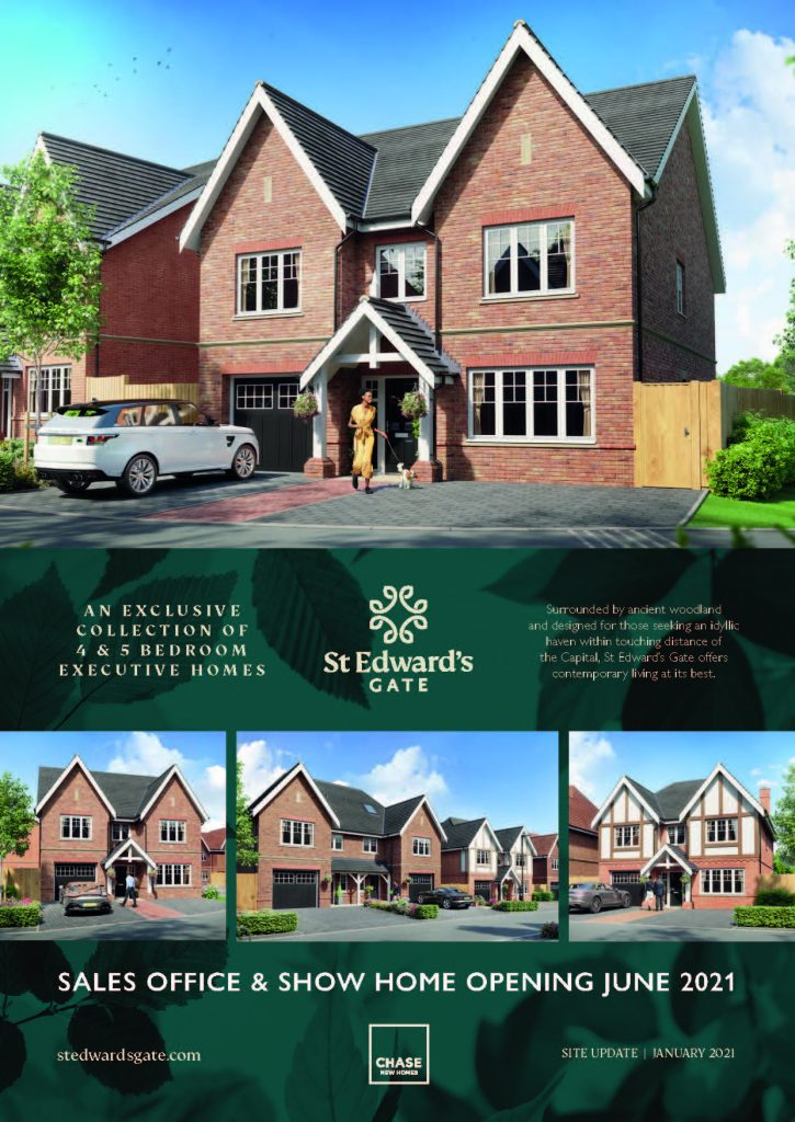 Chase New Homes St Edwards Gate Update Issue1 Jan 2021