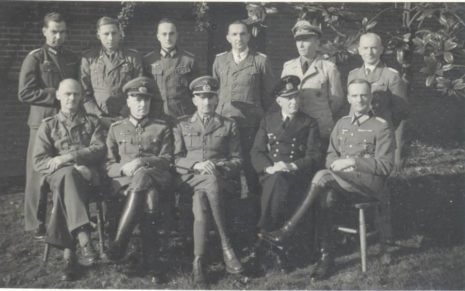 Generals Trent Park Christmas 1943