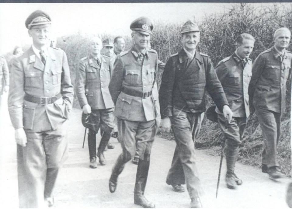 Generals Walking - Trent park